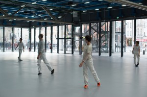 Work/Travail/Arbeid, Anne Teresa de Keersmaeker au Centre Pompidou