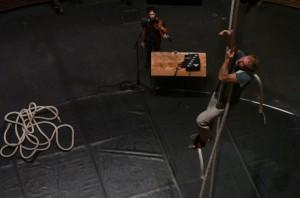 Le Vide / Essai de cirque, Fragan Gehlker, Alexis Auffray & Maroussia Diaz Verbèke